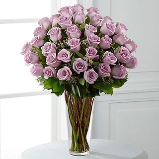 The Lavender Rose Bouquet - 36 Stems